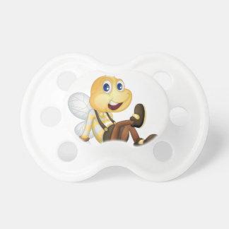 Sentada de la abeja chupete