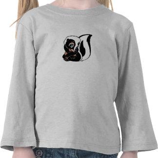 Sentada de la flor de Disney Bambi Camisetas