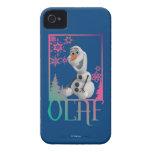 Sentada de Olaf Case-Mate iPhone 4 Carcasa