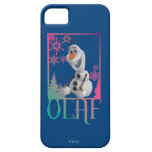 Sentada de Olaf iPhone 5 Case-Mate Coberturas