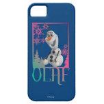 Sentada de Olaf iPhone 5 Coberturas