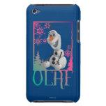 Sentada de Olaf iPod Case-Mate Cobertura