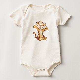 Sentada de Tigger del bebé de Winnie the Pooh Mameluco De Bebé