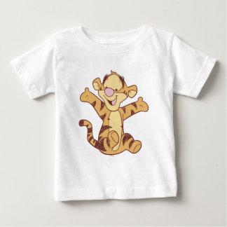 Sentada de Tigger del bebé de Winnie the Pooh Playera De Bebé