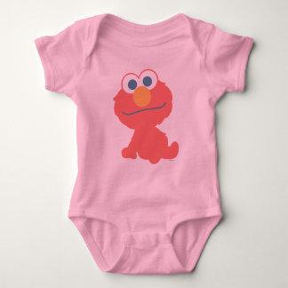 Sentada del bebé de Elmo Playera
