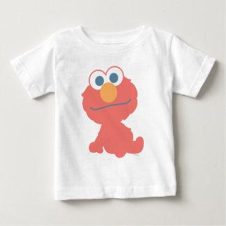 Sentada del bebé de Elmo Remera