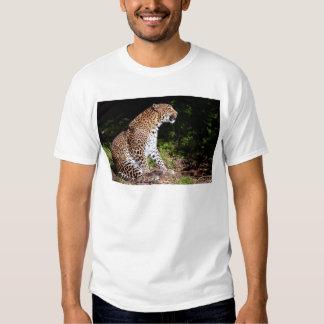 Sentada del leopardo remeras
