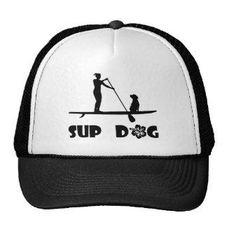 Sentada del perro del SORBO Gorras De Camionero