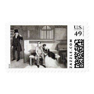 Sentenced to Transportation, plate 6 of 'The Drunk Postage
