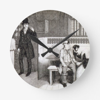 Sentenced to Transportation, plate 6 of 'The Drunk Round Clock