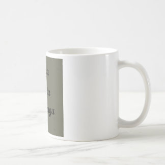 Sentences in Portuguese Coffee Mug