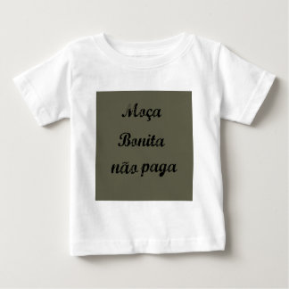 Sentences in Portuguese Tee Shirt