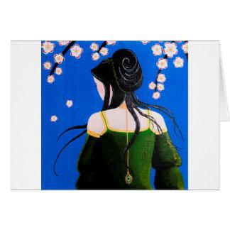 Senteurs fleuries card