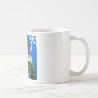 Senteurs fleuries classic white coffee mug