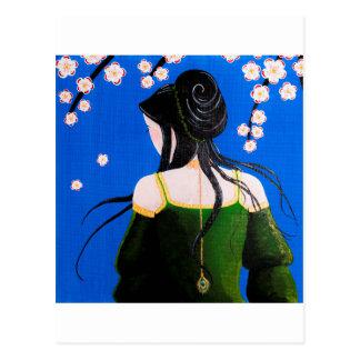 Senteurs fleuries postcard