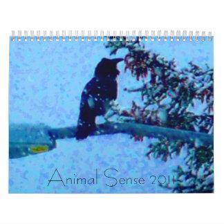Sentido animal 2011 calendario