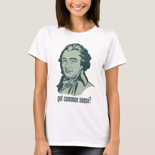 ¿Sentido común conseguido? Camiseta