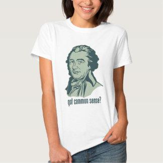¿Sentido común conseguido? Camiseta Remera