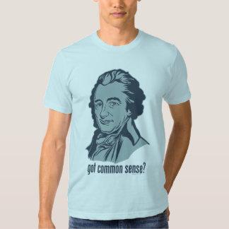 ¿Sentido común conseguido? Camiseta Remeras