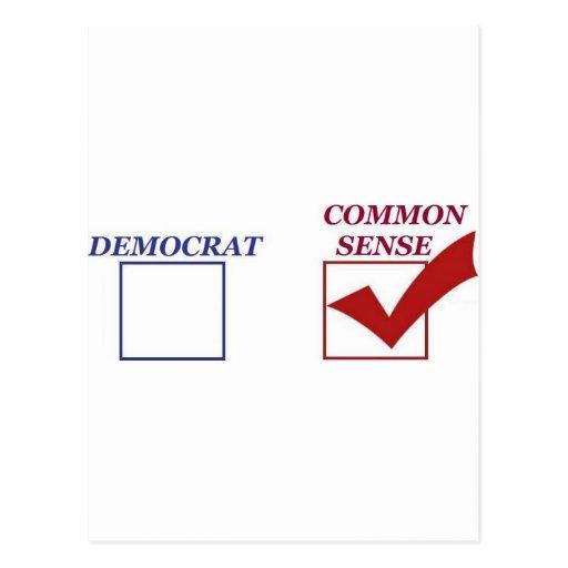 sentido común del republicano tarjetas postales