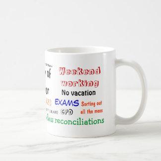 ¡Sentido del contable del humor?! Taza De Café