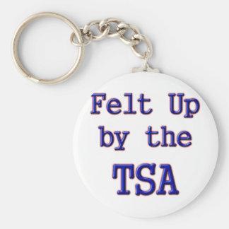 Sentido para arriba por el TSA Llavero