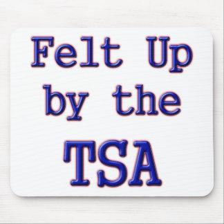 Sentido para arriba por el TSA Tapete De Ratón