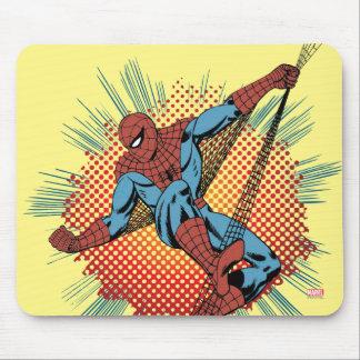 Sentidos retros de Spider-Man Spidey Alfombrilla De Raton