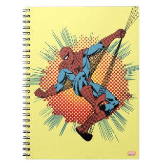 Sentidos retros de Spider-Man Spidey Cuaderno