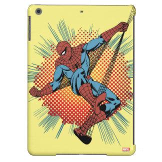 Sentidos retros de Spider-Man Spidey Funda Para iPad Air
