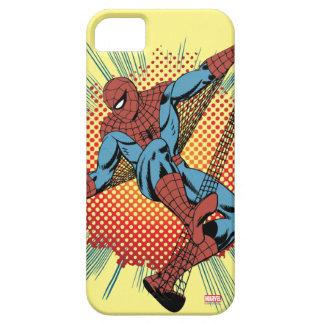 Sentidos retros de Spider-Man Spidey Funda Para iPhone SE/5/5s