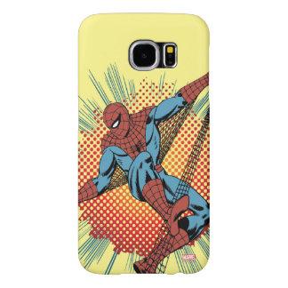 Sentidos retros de Spider-Man Spidey Funda Samsung Galaxy S6