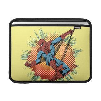 Sentidos retros de Spider-Man Spidey Fundas Macbook Air