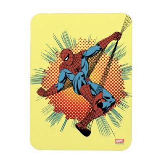 Sentidos retros de Spider-Man Spidey Imanes Rectangulares
