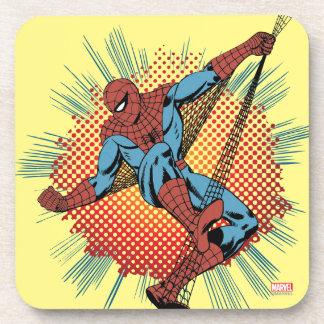 Sentidos retros de Spider-Man Spidey Posavaso