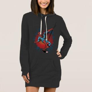 Sentidos retros de Spider-Man Spidey Vestido