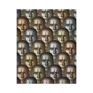 Sentient Android Among Others Wrapped Canvas