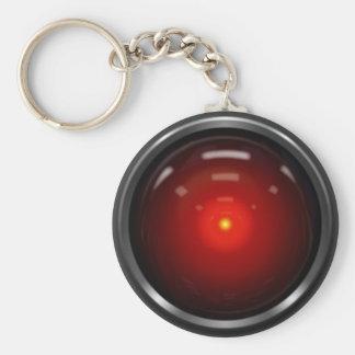 Sentient Basic Round Button Keychain