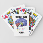 Sentient Being Inside (Anatomical Brain) Playing Cards
