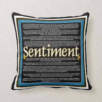 Sentiment Pillow