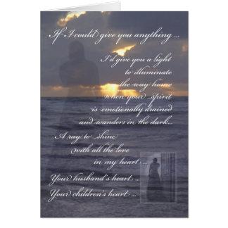 Sentimental Birthday Original Writing Card
