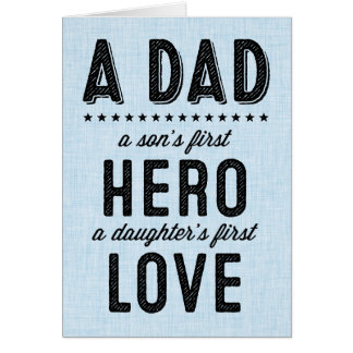 Sentimental Happy Father's Day Card