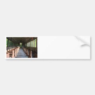 Sentimental Journey Bumper Sticker