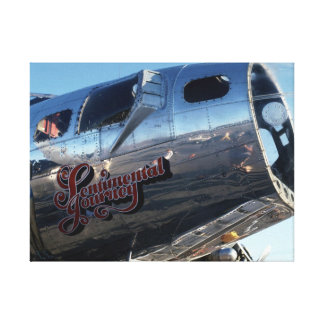 Sentimental Journey Canvas Print