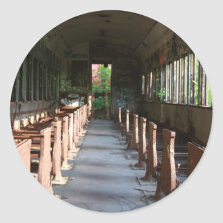 Sentimental Journey Classic Round Sticker