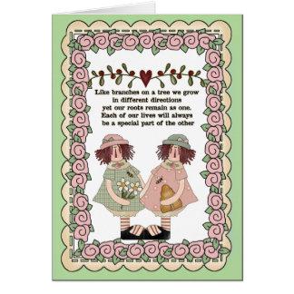 Sentimental Sisters card