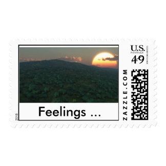 Sentiments (Full HD), Feelings ... Postage Stamp