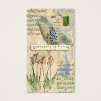 Sentiments of Spring profile card