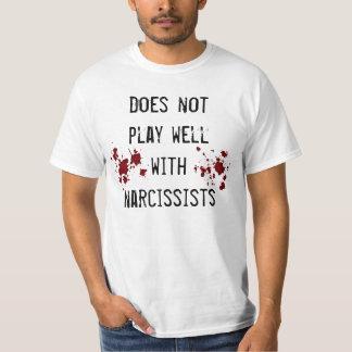 Sentimiento anti del narcisismo con las playera