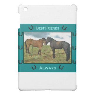 Sentimiento de los mejores amigos con los caballos